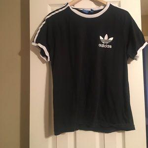 Adidas originals 3 stripe shirt Size Large